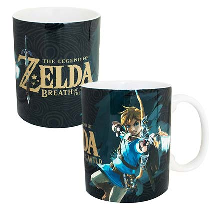 The Legend Of Zelda Breath Of The Wild Link 11oz Coffee Mug