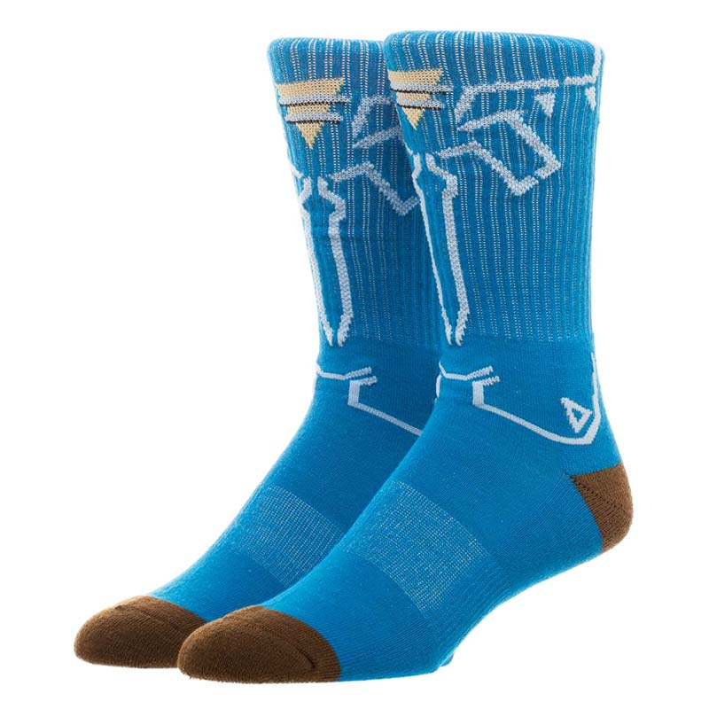 The Legend Of Zelda Breath Of The Wild Crew Socks