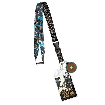 The Legend Of Zelda Breath Of The Wild Keychain Lanyard