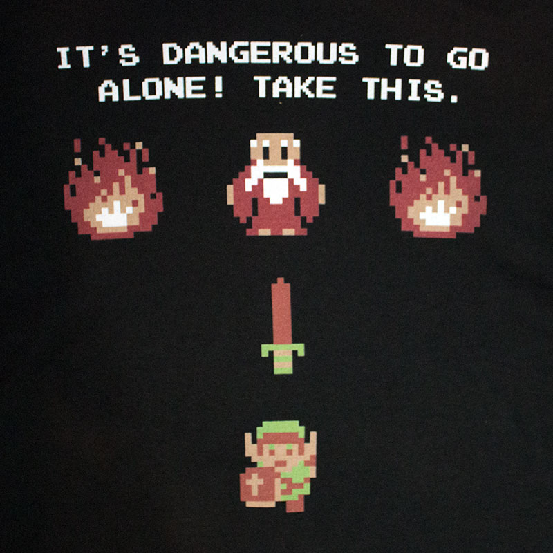 Nintendo Legend Of Zelda Dangerous Tee Shirt