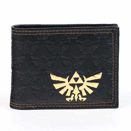 Legend of Zelda Triforce Black Wallet