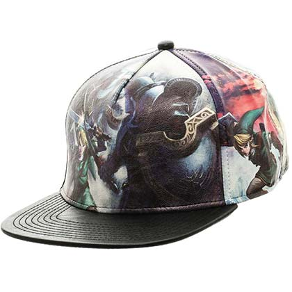 Legend of Zelda Printed Snapback Hat