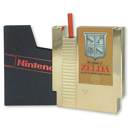 The Legend Of Zelda NES Cartridge Flask