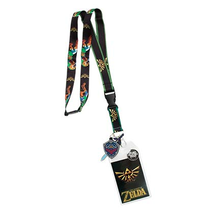 The Legend Of Zelda Link Keychain Lanyard