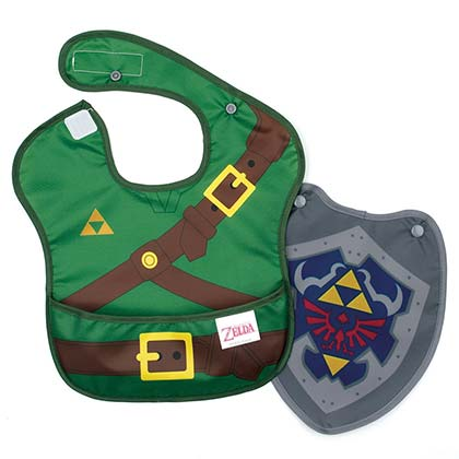 Legend Of Zelda Green Infant Link Costume Sleeved Bib