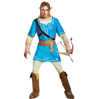 The Legend Of Zelda Adult Halloween Breath Of The Wild Costume