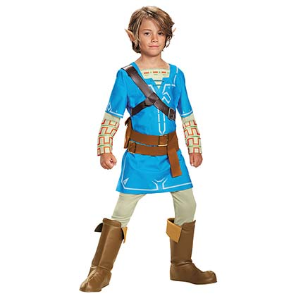 The Legend Of Zelda Youth Halloween Breath Of The Wild Costume