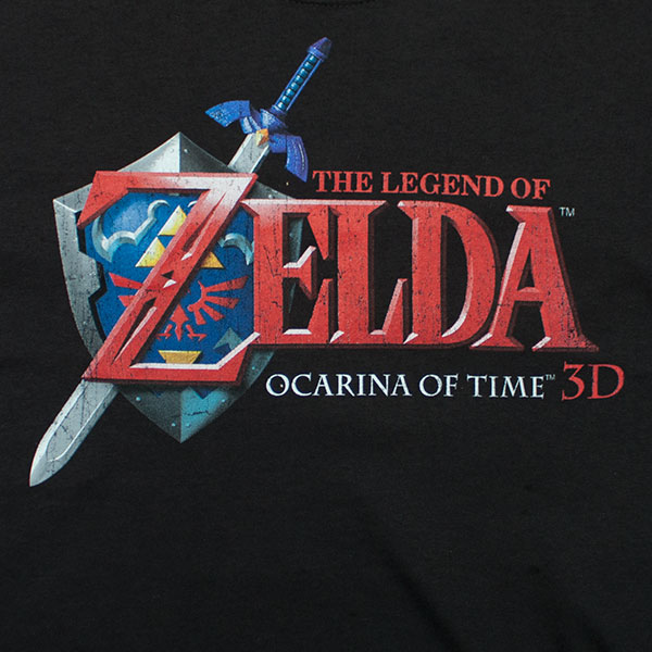 the legend of zelda ocarina of time logo tshirt | superheroden