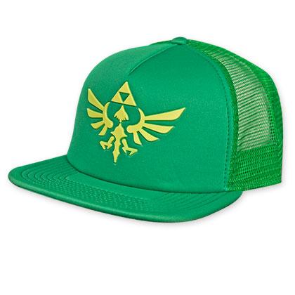 Zelda Green Mesh Snapback Hat