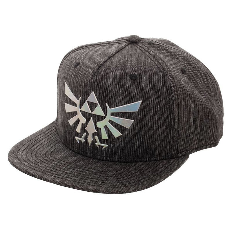 innovative design 82e0a 06419 item was added to your cart. Item. Price. Legend Of Zelda Grey Iridescent Logo  Snapback Hat