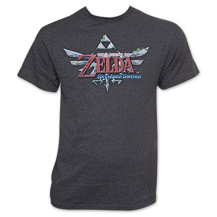 Nintendo Men's Legend Of Zelda Tee Shirt