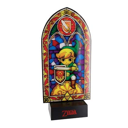 The Legend Of Zelda Link Stained Glass Light