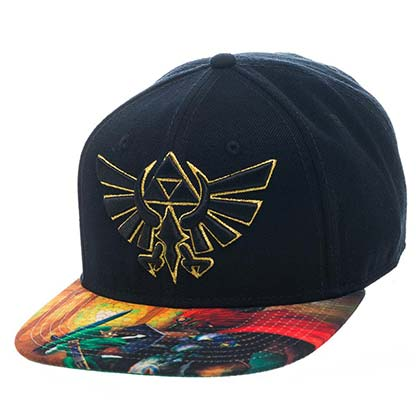 Legend of Zelda Colored Brim Hat