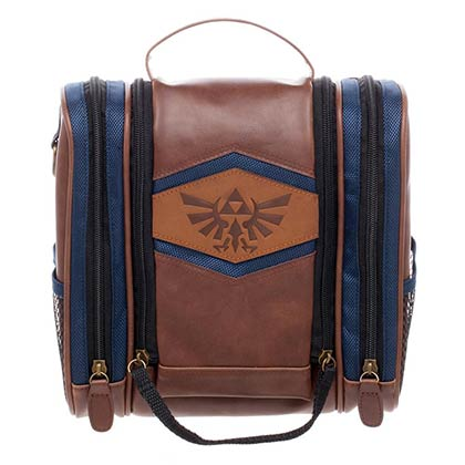 The Legend Of Zelda Nintendo Toiletry Dopp Kit Bag