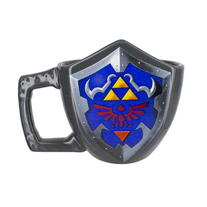 The Legend Of Zelda Triforce Shield Coffee Mug