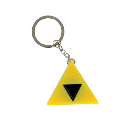 The Legend Of Zelda Triforce Light Up Sound Keychain