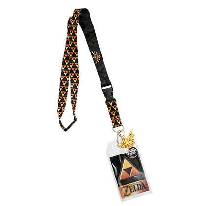 The Legend Of Zelda Triforce Lanyard