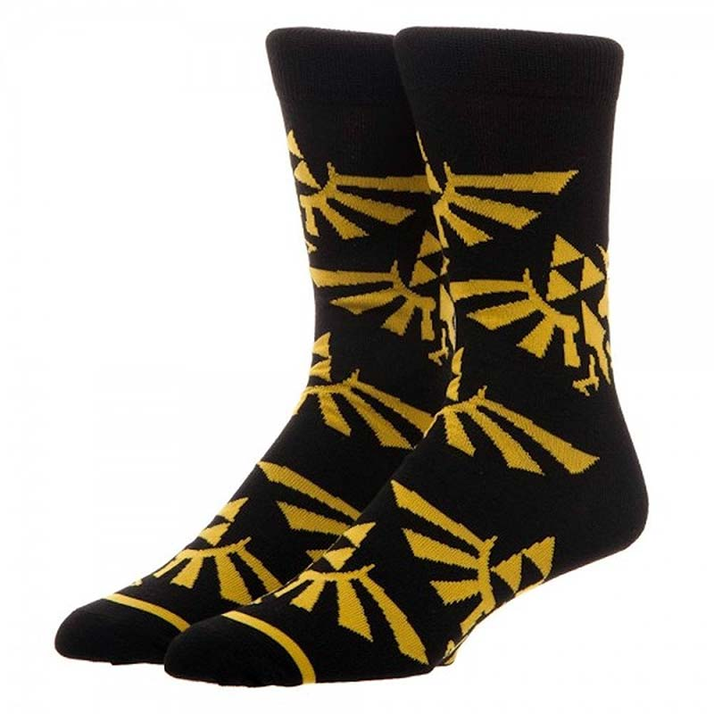 The Legend Of Zelda Men's Triforce Crew Socks