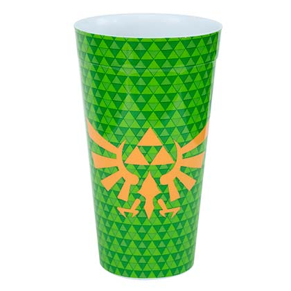 The Legend Of Zelda Green Triforce Pint Glass