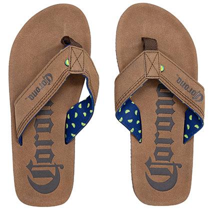 Corona Brown Flip Flops