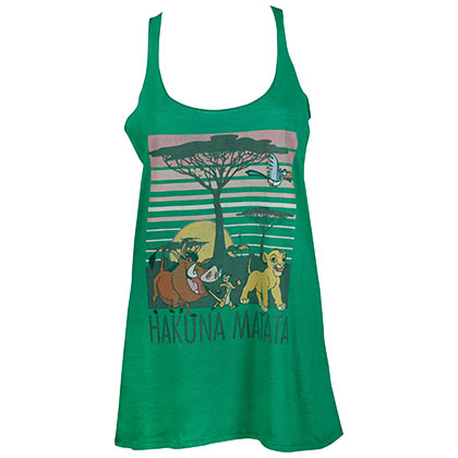 LION KING HAKUANA MATATA WOMENS TANK TOP PLACEHOLDER