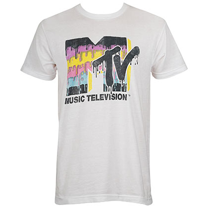 MTV Retro Logo Men's Tee Shirt