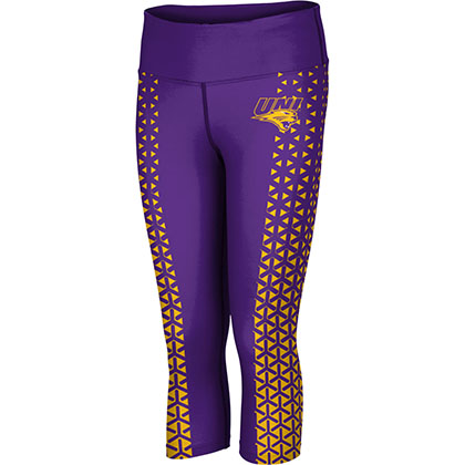 ProSphere Women's University of Northern Iowa Geometric Capri Length Tight
