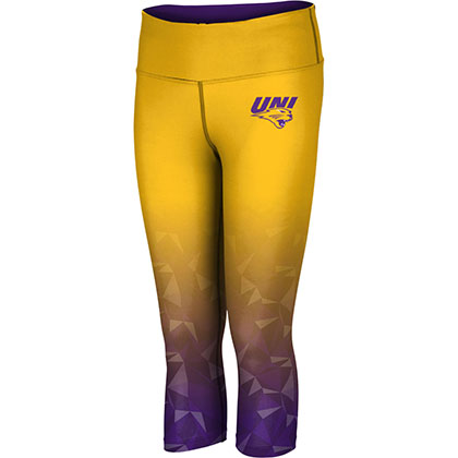 ProSphere Women's University of Northern Iowa Maya Capri Length Tight