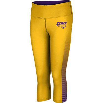 ProSphere Women's University of Northern Iowa Zoom Capri Length Tight