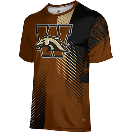 ProSphere Men's Western Michigan University Hustle Tech Tee