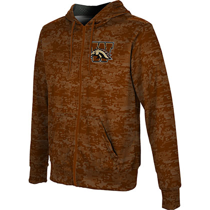 ProSphere Men's Western Michigan University Digital Fullzip Hoodie