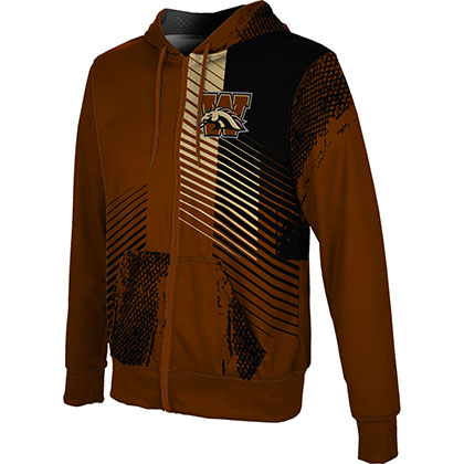 ProSphere Men's Western Michigan University Hustle Fullzip Hoodie
