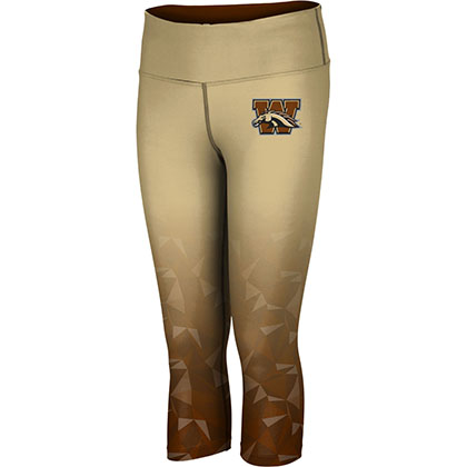 ProSphere Women's Western Michigan University Maya Capri Length Tight