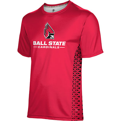 ProSphere Men's Ball State University Geometric Tech Tee