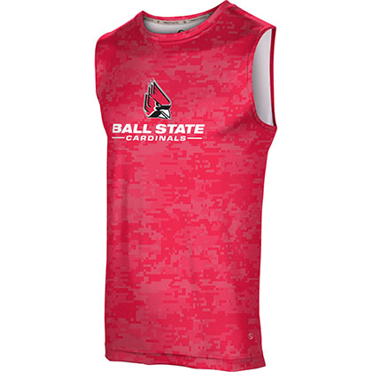ProSphere Men's Ball State University Digital Sleeveless Tech Tee