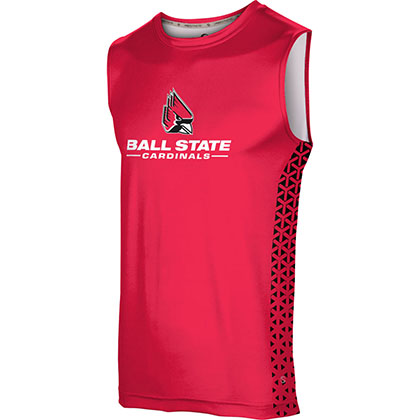 ProSphere Men's Ball State University Geometric Sleeveless Tech Tee