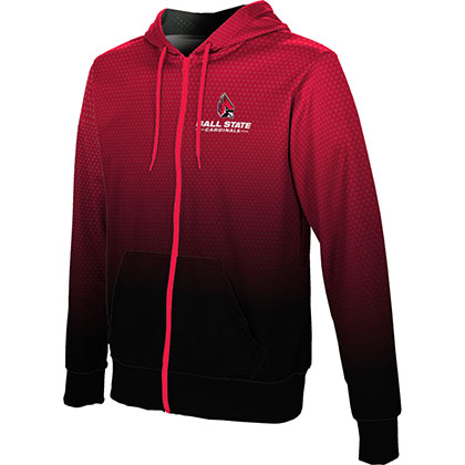 ProSphere Men's Ball State University Zoom Fullzip Hoodie