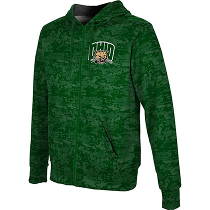 ProSphere Men's Ohio University Digital Fullzip Hoodie