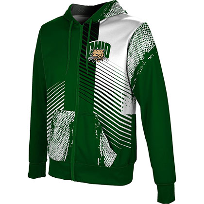 ProSphere Men's Ohio University Hustle Fullzip Hoodie