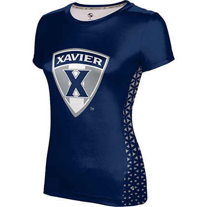 ProSphere Women's Xavier University Geometric Tech Tee