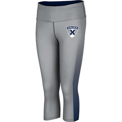 ProSphere Women's Xavier University Zoom Capri Length Tight
