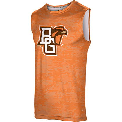 ProSphere Men's Bowling Green State University Digital Sleeveless Tech Tee