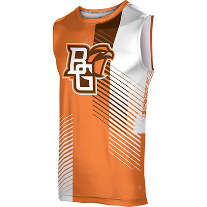 ProSphere Men's Bowling Green State University Hustle Sleeveless Tech Tee