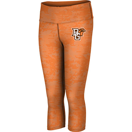 ProSphere Women's Bowling Green State University Digital Capri Length Tight