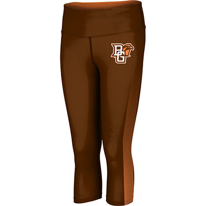 ProSphere Women's Bowling Green State University Zoom Capri Length Tight