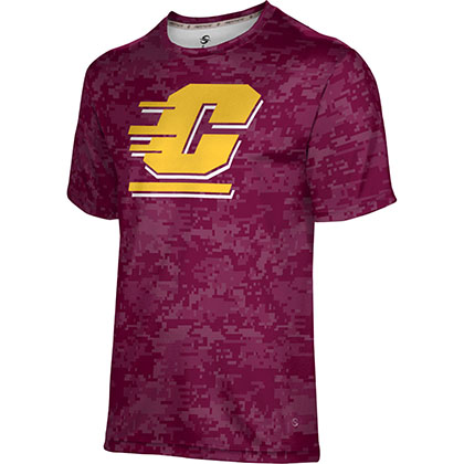 ProSphere Men's Central Michigan University Digital Tech Tee
