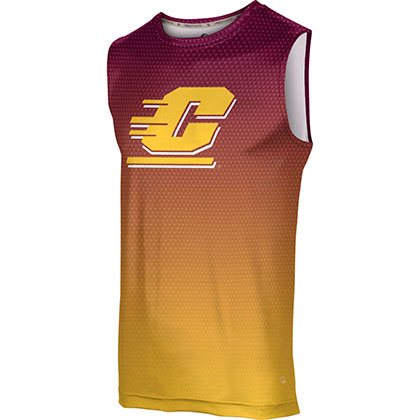 ProSphere Men's Central Michigan University Zoom Sleeveless Tech Tee