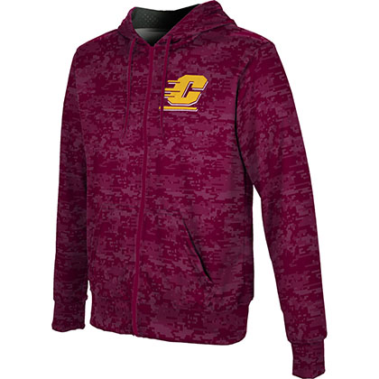ProSphere Men's Central Michigan University Digital Fullzip Hoodie