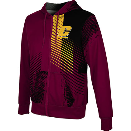 ProSphere Men's Central Michigan University Hustle Fullzip Hoodie