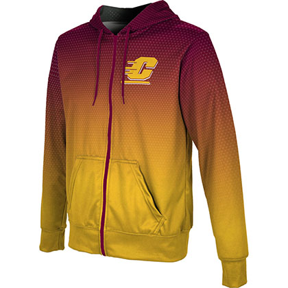 ProSphere Men's Central Michigan University Zoom Fullzip Hoodie